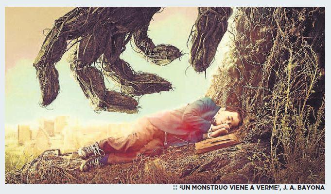 Un monstruo viene a verme - J.A.Bayona